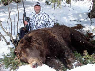 Spring Hunts for Alaska Brown Bear Hunting with Top Gun Treks