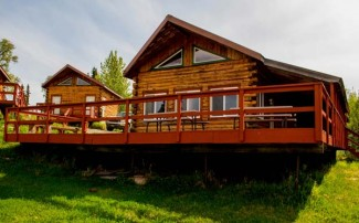 Alaska Bear Bait Hunting Lodge with Top Gun Treks Guide Service
